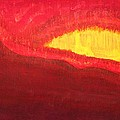 Wildfire Eye Original Painting by Sol Luckman