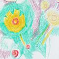 Wildflowers Cyprus by Anita Dale Livaditis