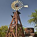 Wildseed Farms Windmill by Allen Sheffield