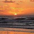Wildwood Beach Here Comes The Sun by David Dehner