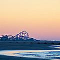Wildwood Beach Panorama by Bill Cannon