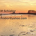 Wildwood Sunset by Eric  Schiabor