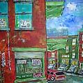 Wilensky's Corner by Michael Litvack