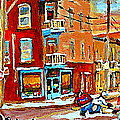 Wilenskys Paintings Hockey Art Prints Originals Commissions Contact Popular Montreal Artist Cspandau by Carole Spandau