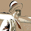 Will Rogers Informal Portrait Unknown Photographer Or Location 1924-2014  by David Lee Guss