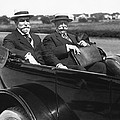 Willam Taft And Charles Hughes by Underwood Archives
