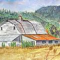 Willamette Valley Barn by Carol Flagg