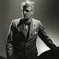 William Butler Yeats Wearing A Three-piece Suit by Edward Steichen