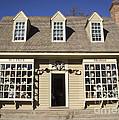 William Pitt Shop Williamsburg Virginia by Teresa Mucha