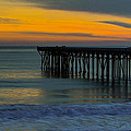 William R. Hearst Memorial  State Beach Pier by Duncan Selby