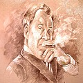 William Shatner As Denny Crane In Boston Legal by Miki De Goodaboom