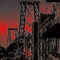 Williamsburg Bridge Abstract by Jeff Watts