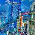 Williamsburg Street Abstract by Jeff Watts