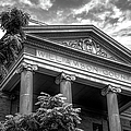 Williamson County Courthouse Bw by Joan Carroll