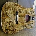 Willie And Waylon by Tim  Joyner