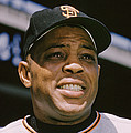 Willie Mays Close-up by Retro Images Archive