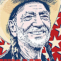 Willie Nelson Pop Art by Jim Zahniser