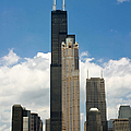 Willis Tower Aka Sears Tower by Adam Romanowicz