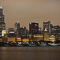 Willis Tower In Fog by Anthony Doudt