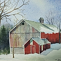 Williston Barn by Mary Ellen Mueller Legault