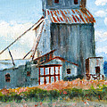 Willow Creek Grain Elevator by C Sitton