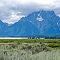 Willow Flats Overlook In Grand Teton National Park-wyoming   by Ruth Hager