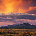 Willow Flats Sunset by Mark Kiver