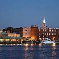 Wilmington At Night by Cynthia Guinn