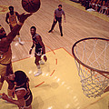 Wilt Chamberlain Finger Roll  by Retro Images Archive