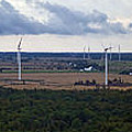 Wind Energy Panorama by Jim Finch