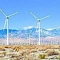 Wind Farm Palm Springs by Jerome Stumphauzer