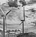 Wind Generators Or Turbines Palm Springs by Bob and Nadine Johnston