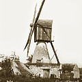 Wind Mill In France 1900 Historical Photo by California Views Archives Mr Pat Hathaway Archives