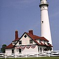 Wind Point Lighthouse by Dick Willis