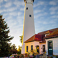Wind Point Lighthouse by Edward Deiro