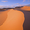 Wind Ripples In Sand Dunes by Tim Fitzharris