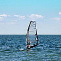 Wind Surfer by Aimee L Maher ALM GALLERY