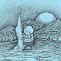 Wind Surfer by Brian Gilna