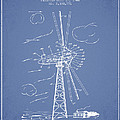 Wind Turbine Patent From 1944 - Light Blue by Aged Pixel
