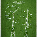 Wind Turbine Rotor Blade Patent From 1995 - Green by Aged Pixel