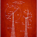 Wind Turbine Rotor Blade Patent From 1995 - Red by Aged Pixel