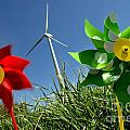Wind Turbines And Toys by Bernard Jaubert