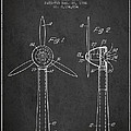 Wind Turbines Patent From 1984 - Dark by Aged Pixel