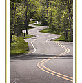 Winding Road Door County by Barbara Smith