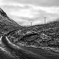 Winding Road In Glen Etive by John Farnan