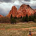 Winding Through The Garden Of The Gods by Adam Jewell