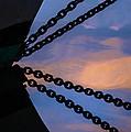 Windjammer Schooner Appledore Bobstays In Abstract by Marty Saccone