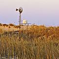 Windmill At Dusk 2011 by Allen Sheffield