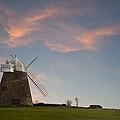 Windmill At Sunset by Matthew Gibson