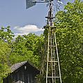 Windmill - Cedar Hill State Park by Allen Sheffield